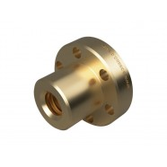 Flanged Bronze Nut - 4mm Lead